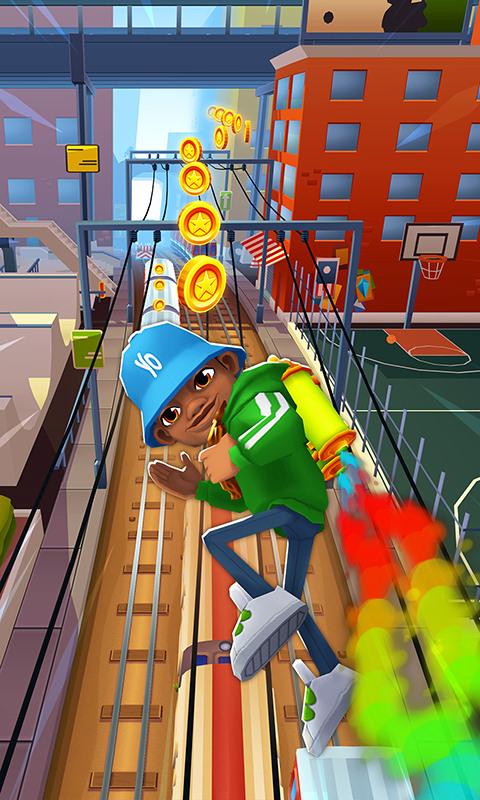 地铁跑酷-应用截图